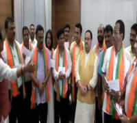 10 rebel Goa Congress MLAs, who resigned from party, join BJP in presence of JP Nadda