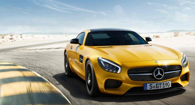 German Car Maker Mercedes Benz Today Said It May Unveil The All New  Mercedes AMG GT Sports Car This Year As Part Of Its Plan To Launch 15 New  Cars In 2015.