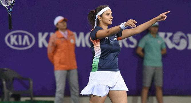 Praise erupts on Twitter for number one Sania Mirza - News