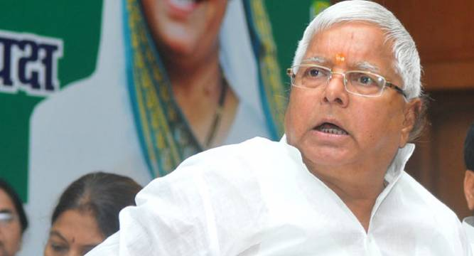 Why is PM silent on Mohan Bhagwat's reservation statement, asks Lalu