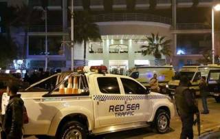 Terrorists attack foreign tourists in Egypt hotel