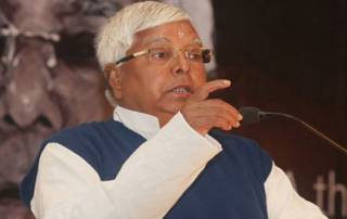 Lalu chosen as RJD president for 9th consecutive term