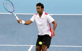 Leander Paes suffer first-round loss in Sydney International