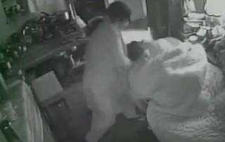 Watch: Woman brutally beats up mother-in-law in Bijnor, caught in CCTV