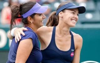 Hingis joins Sania at top of world rankings