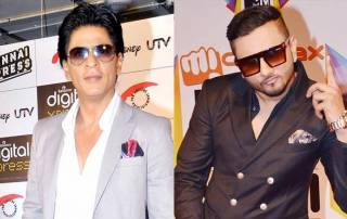 Back in the frame! SRK, Yo Yo Honey Singh share picture perfect