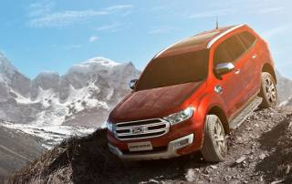 The all-new Ford India's premium SUV Endeavour is here!