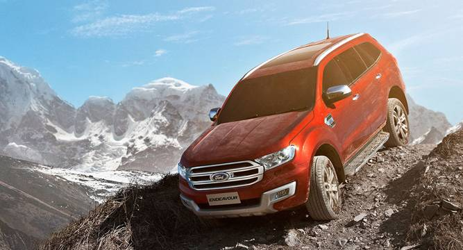 The All New Ford India S Premium Suv Endeavour Is Here Www