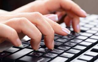 Type slowly to improve writing skills: Study