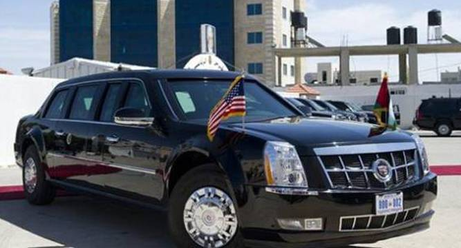 Next Us President S Limo Spotted Undergoing Secret Tests Www