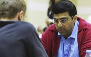 Anand wins second game; Harika defeats Nigel Short