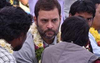 ABVP protests Rahul's visit, calls college bandh in Telangana