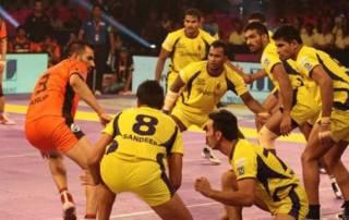U Mumba begins title defence on a rousing note against Telugu Titans