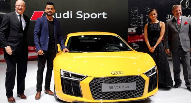 Celebrities At 2016 Auto Expo Sachin Tendulkar Ranbir: Auto Expo 2016 Kicks Off As 51 New Products Make Debut