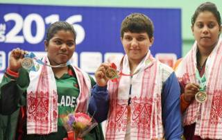 No stopping India's golden run in South Asian Games