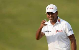Lahiri wins Hilton Asian Tour Golfer of the Year award