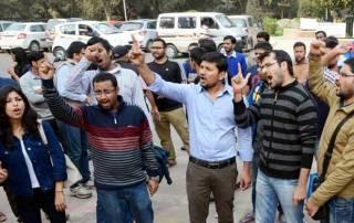 JNU crackdown: ABVP members shouted pro-Pakistan slogans?