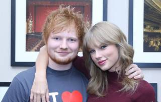 Taylor Swift posts heartwarming birthday message for Sheeran