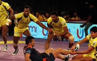 Pro Kabaddi Season 3: Bengal Warriors beat Telugu Titans