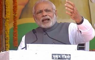 PM launches 'Rurban Mission', says his government is for poor, Dalits