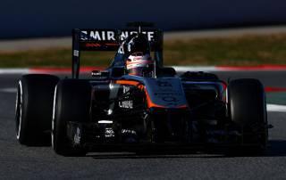 Hulkenberg fastest on day three of pre-season testing