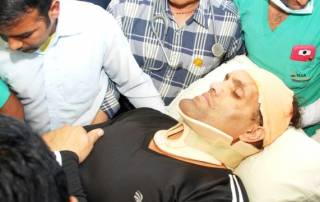 'Blood for blood & chair for chair', an injured Khali vows revenge | Watch: How it all happened?
