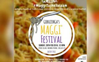 The Maggi Festival at Nehru Park was an instant hit!