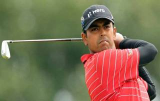 Lahiri enters Top-10 at World Golf Champs in Doral