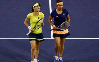 Sania, Martina make winning start at Indian Wells