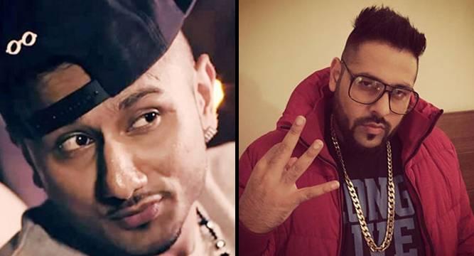 Honey Singh(Left) and Badshah(Right)