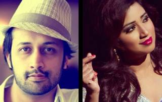 Two great voices – Shreya Ghoshal and Atif Aslam have birthdays today!