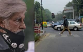 Amitabh Bachchan strolls around Delhi in the masked wonders, goes unnoticed