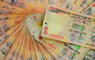 Rupee down 5 paise against US dollar in early trade