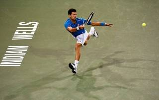 Novak Djokovic cruises, Rafael Nadal survives at Indian Wells