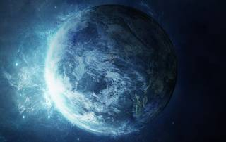 Early Earth was colder, gave birth to first organisms in ice cold ocean