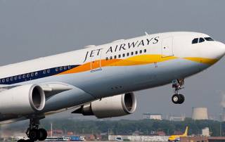 Five Jet Airways planes from Delhi receive bomb threats