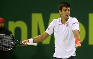 Djokovic wins Miami opener while Federer withdraws