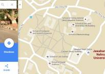 Google Maps' showing of JNU on typing sedition may be a 'bug'