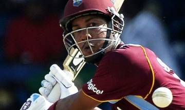 Lendl Simmons comes in to replace injured Andre Fletcher in West Indies squad