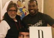 When Amitabh Bachchan met Chris Gayle!