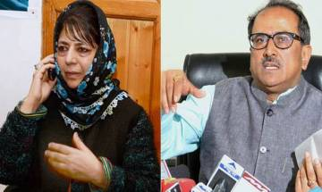 Governor N N Vohra invites PDP chief Mehbooba Mufti to form government in J-K