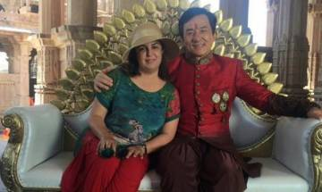 Farah Khan fan of Jackie Chan's dancing skills