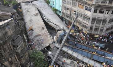 Kolkata flyover collapse: Construction company official arrested
