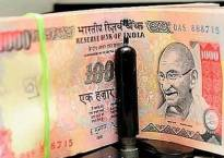 Rupee changes track, slips 11 paise against dollar