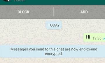 WhatsApp end-to-end encryption comes with high end privacy for its billion users