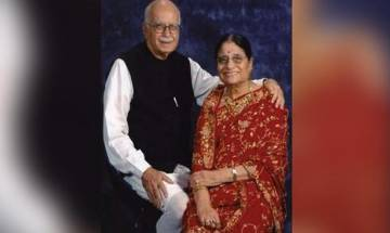 Cremation of Kamla Advani, wife of BJP veteran L K Advani, today