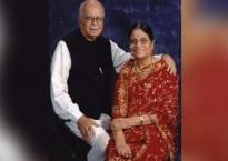 Cremation of Kamla Advani, wife of BJP veteran L K Advani, today