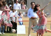 Royal couple take guard, Mumbai bowled out