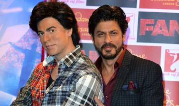 Shah Rukh Khan unveils 'Fan' inspired wax figure at Madame Tussauds