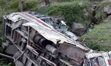 25 people killed, 11 injured as bus falls in gorge